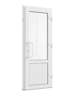 Входная одностворчатая дверь