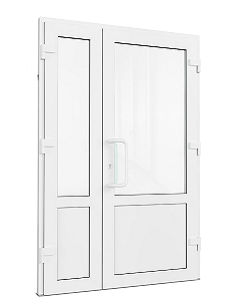 Входная штульповая дверь