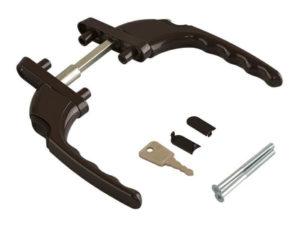 Балконная ручка с ключом