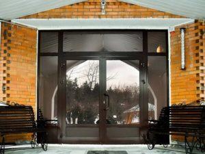 Ламинация входной двери